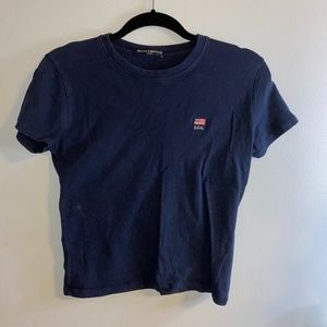 Brandy Melville Navy T-Shirt
